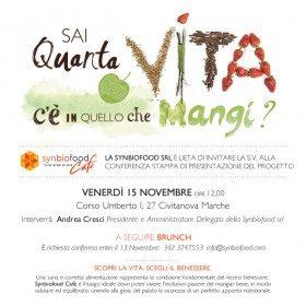 Civitanova Marche: inaugurato SYNBIOFOOD CAFE