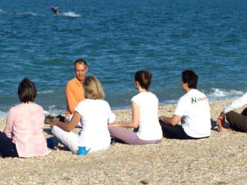 Civitanova: corsi di Yoga in spiaggia