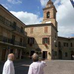 Terremoto Macerata, molti i danni. Rimosso campanile pericolante nel Comune di Gualdo