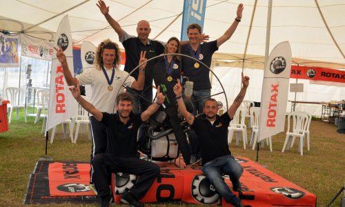 Vittorazi Motors di Morrovalle, vince il Campionato del Mondo di Paramotore