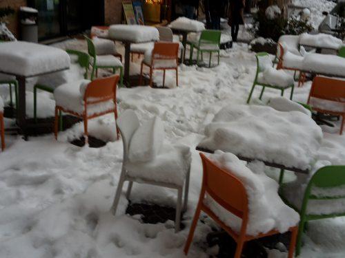 Neve a Macerata e provincia