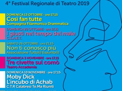 """Montecassiano capitale del teatro amatoriale con """"Marche in Atti 2019"""""""